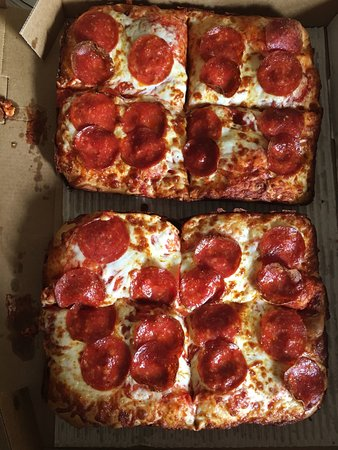 Crofton, MD: Pepperoni Deep Deep Dish pizza