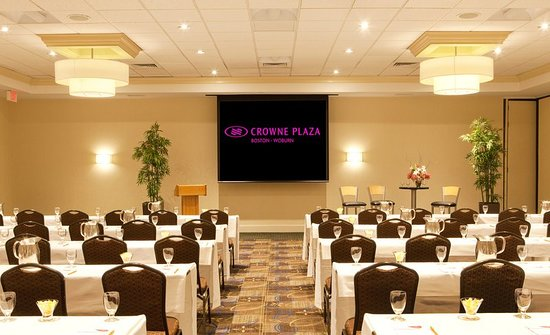 Crowne Plaza Boston Woburn: Ballroom