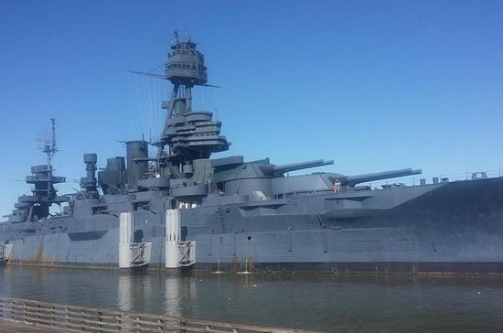 Houston and Battleship Texas and San...