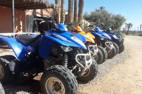 Une demi-journée de quad à Marrakech...