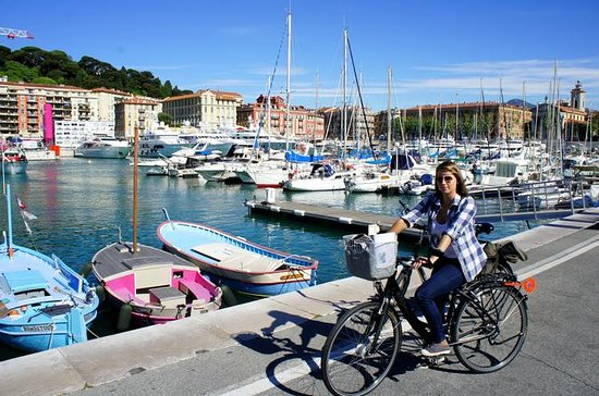 3-timers privat sykkeltur i Nice