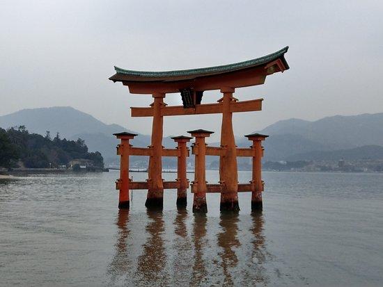 Hatsukaichi, Japan: 白天退潮中