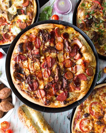 Enmore, أستراليا: Six Meats Pizza