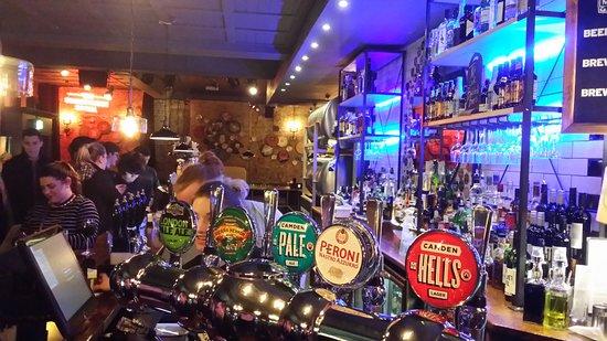 The Sindercombe Social: Bar View