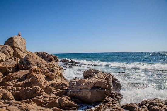 Residence Lisa Maria : vue plage autour de la résidence à favone