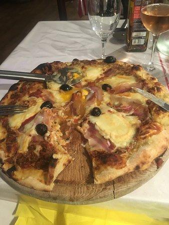 Excellentes pizzas !