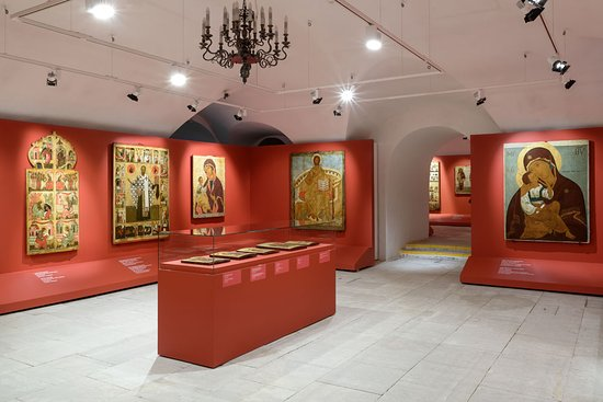 ‪The Central Andrey Rublev Museum of Ancient Russian Culture and Art‬