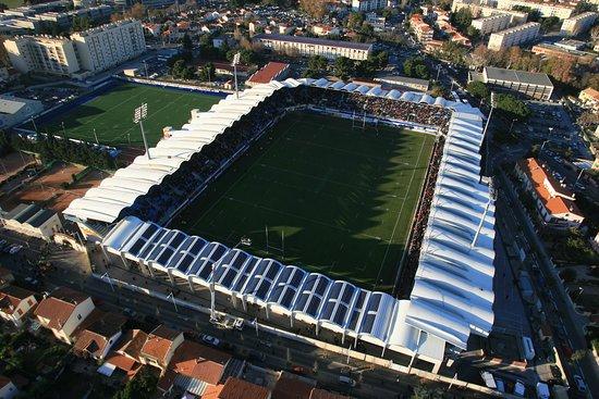 Perpignan, Francia: Vue aérienne du Stade Aimé Giral