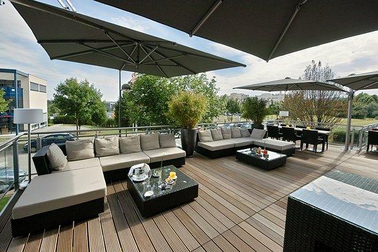 Munsbach, Luxemburgo: terrace