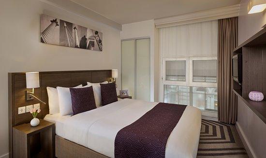 Citadines Trafalgar Square London: 2-Bedroom Apartment - Bedroom