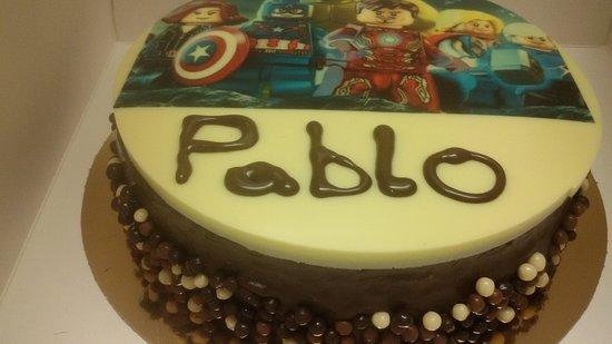 Cehegin, Spain: tarta de foto infantil