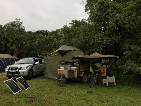 Morgan's Bay, South Africa: Campsite