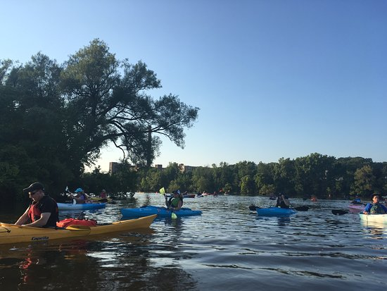 Amsterdam, NY: Tuesday Night Kayaking Club