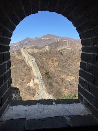 Section de la Grande Muraille de Mutianyu : torretta