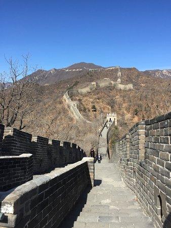 Section de la Grande Muraille de Mutianyu : muraglia
