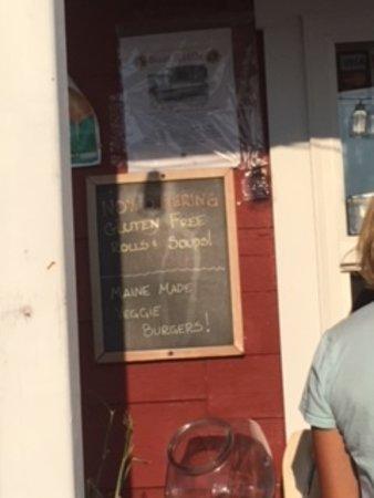 South Thomaston, ME: menu