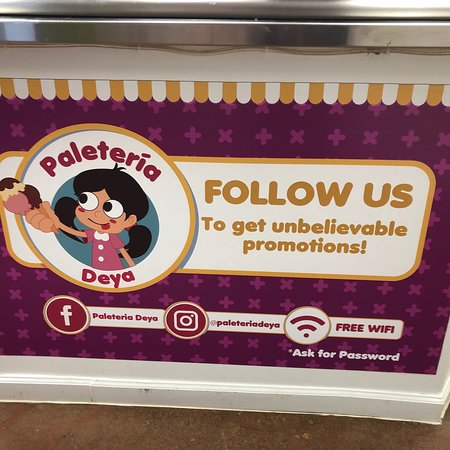 You Can Check Them Out On Social Media Picture Of Paleteria Deya