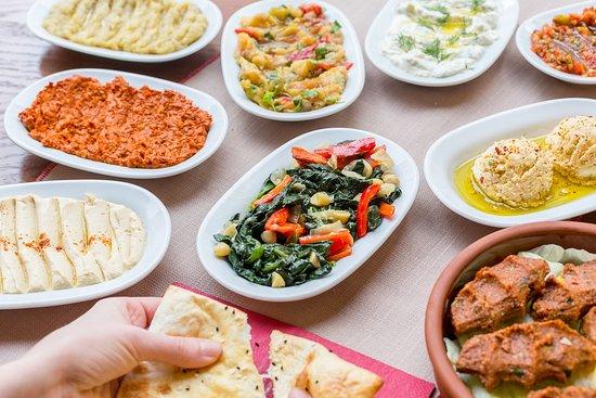 Ali`s Grill: Ali`s Türkische Vorspeisen-Variationen
