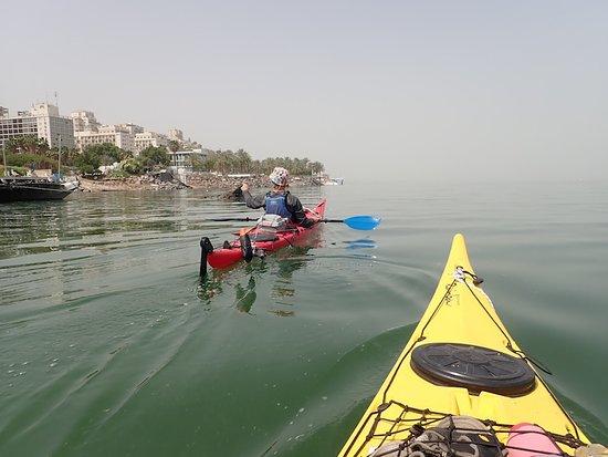 Tiberias, İsrail: Walk On Water Kayak Tours www.walkonwaterkayak.com