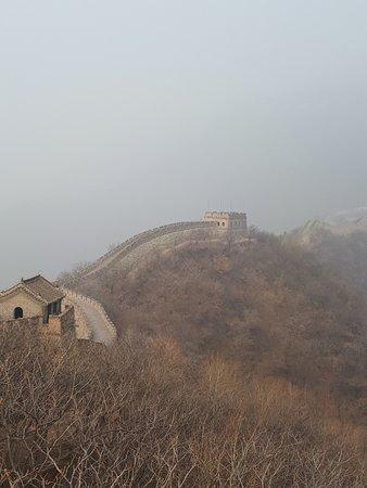 Section de la Grande Muraille de Mutianyu : A perdita d'occhio!