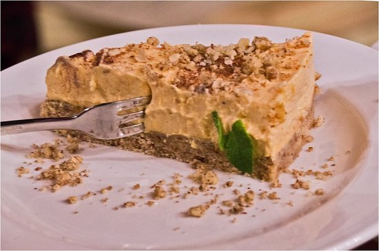 Vratsa, Bułgaria: pumpkin cheesecake