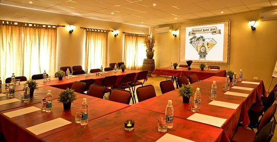 Conference Table Setup Picture Of Bahnhof Hotel Aus Aus TripAdvisor - Conference table setup