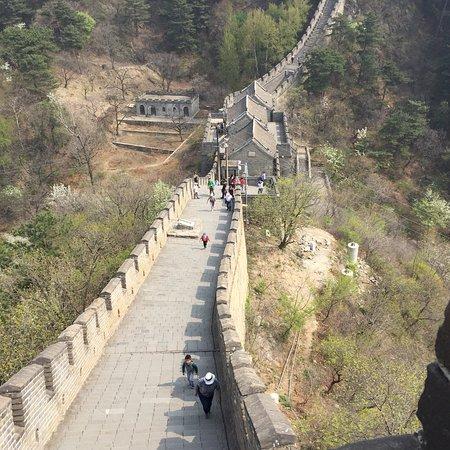 Section de la Grande Muraille de Mutianyu Photo
