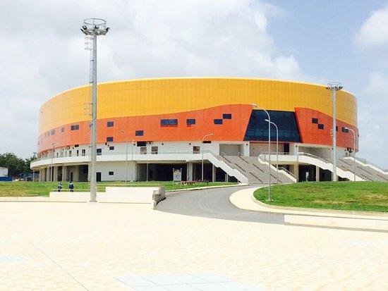 Couva, Тринидад: Exterior view of the Velodrome