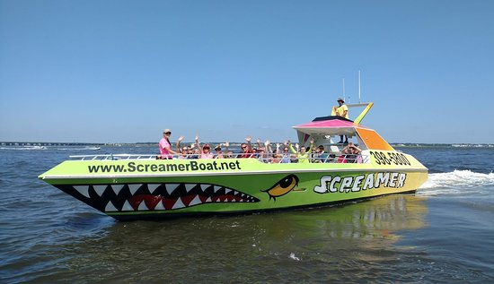 ‪Shore Water Sports Screamer Speedboat‬