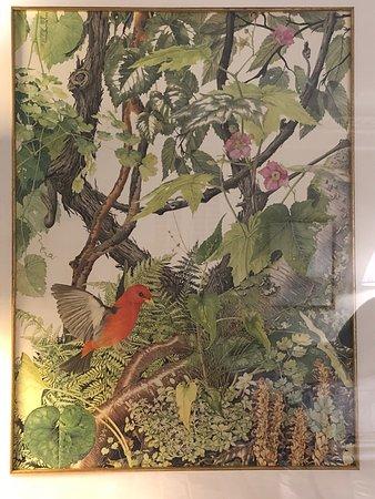 Mansfield Plantation: Sallie Middleton print in Simons room