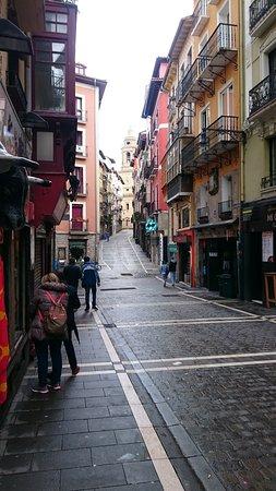 Calle adyacente al Ayuntamiento