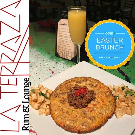 The Venezuelan Brunch Plate Picture Of La Terraza Rum And