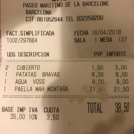 Carte Shoko Barcelone.They Lied To Us That The Water In Barcelona Is Not Drinkable