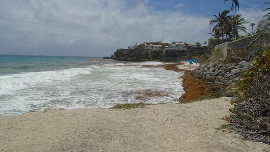 Union Hall, Barbados: Crane Beach