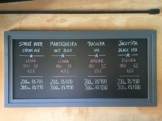 Ótimos preços das Cervejas artesanais feitas na casa!