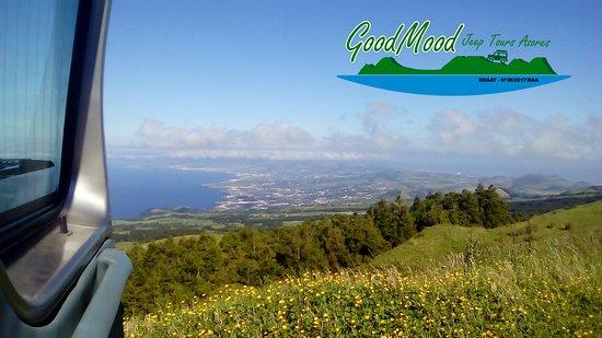Pico Da Cruz.Vista Do Pico Da Cruz Sobre A Costa Norte Da Ilha Picture