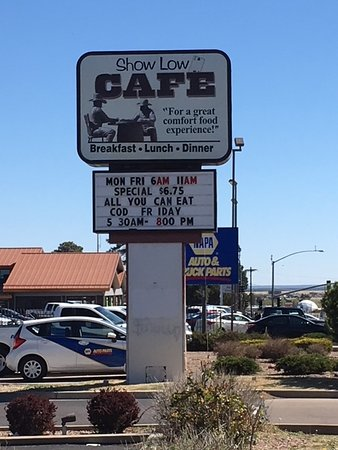 Show Low, AZ: Main Sign