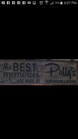 Summerton, ساوث كارولينا: Polly's Restaurant