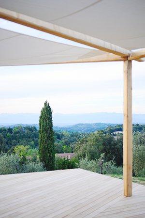 Palaia, Italy: Yoga Deck