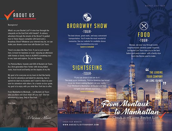 Medford, Estado de Nueva York: BucketList Tours is a Long Island Based Bus Company specializing in Luxury tours throughout New