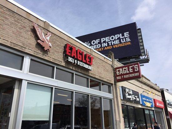 The front of Eagle's Deli
