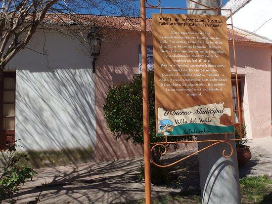 Villa Tulumba, Argentina: Informacion