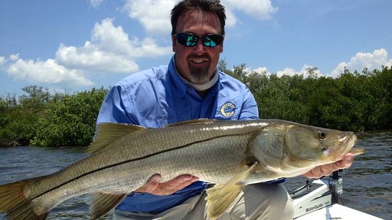 Pineland, FL: Tarpon Fishing Charter Captain Erik Flett