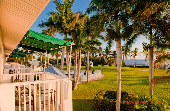 Pineland, FL: Waterview Balcony