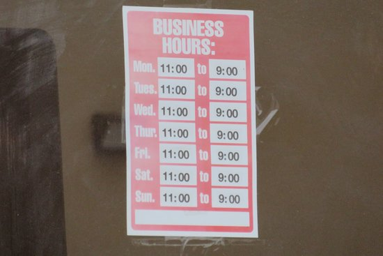 Round Rock, TX: hours they are open for business