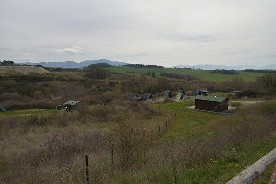 Umbria, Italia: il sito visto dall'alto