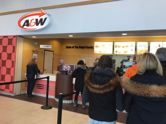 Quinte West, แคนาดา: A&W - Trenton OnRoute