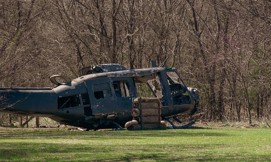 Fort Sill, โอคลาโฮมา: Helicopter used for Field Exercises
