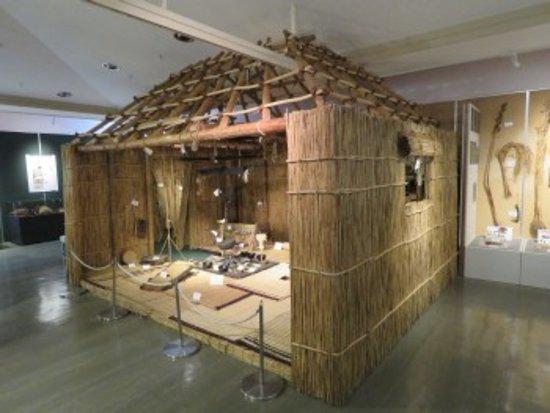 Shinhidaka-cho, Japan: チセの展示
