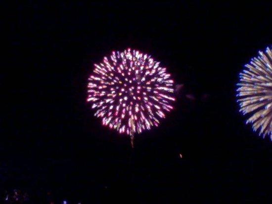Kure Sea Fireworks: 尺玉望遠撮影